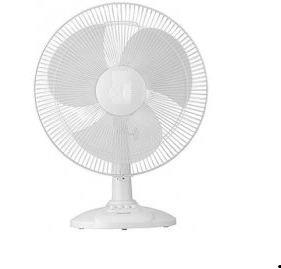 Anchor Cindrella 60 W 3 Blade White Table Fan