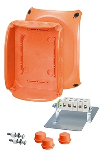 Hensel Dk Cable Junction Box Polycarbonate 210 X 155 X 92 Mm Fk 1606