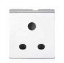 Philips 3 Pin Socket With Shutter 6-16a White 913713913949
