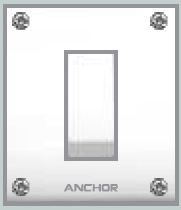 Anchor 1 Way Switch(Capton Series) 20 Amp.
