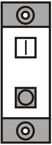 Northwest Switch Dp With Indicator 16 Amp. Convex-M0531 White