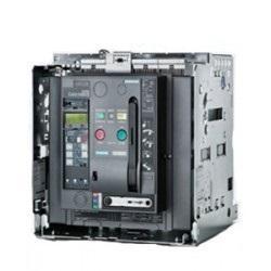 Siemens 5000A 4 Pole Fixed Mounted Design Air Circuit Breaker 3WL1350