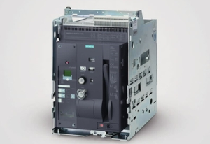 Siemens 3wt8105-6aa04-5ab2 4 Pole Manual Draw Out Air Circuit Breaker (Rated Current- 1000 Amp)
