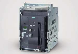 Siemens 3wt8256-6aa04-5ab2 4 Pole Manual Draw Out Air Circuit Breaker (Rated Current- 2500 Amp)
