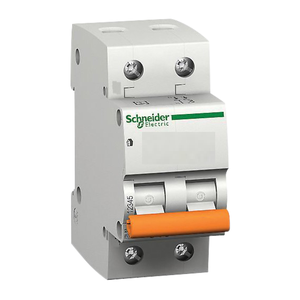 Schneider A9n2p40d 40 A Two Pole Modular Circuit Breakers - Xc60