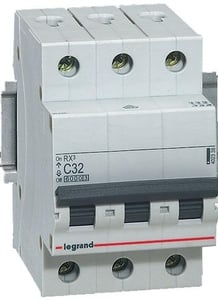 Legrand 4086 53 10 A Three Pole Mcb