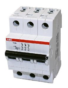 Buy ABB MCB 63A 3 Pole C Curve SH203-C63 Online in India at Best Prices