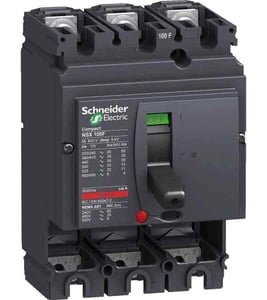 Schneider Lv510937 Thermal Magnetic Trip 3 Pole Molded Case Circuit Breaker Mccb