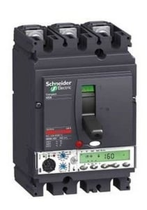 Schneider Lv429554 3 Pole Molded Case Circuit Breaker Mccb (Rated Current 40 A)