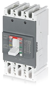 Abb 1sda066720r1 3 Pole Molded Case Circuit Breaker Mccb (Rated Current 125 A)