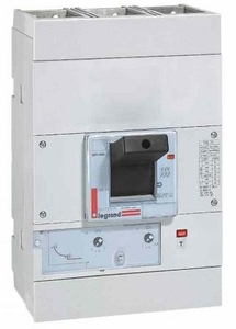 Legrand Dpx 250-0255 63 3 Pole Molded Case Circuit Breaker Mccb (Rated Current 400 A)