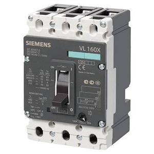 Siemens 3vl2706-1sl36-0aa0 3 Pole Molded Case Circuit Breaker Mccb (Rated Current 63 A)