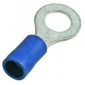 Dowells Rsi-7081 Insulated Ring Terminal (Conductor Size - 2.5-10)