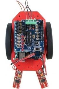 Robomart Line Follower Kit Using Arduino Board RM1143