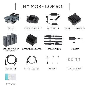Buy DJI Mavic Pro with Fly More Combo Online in India at