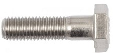 Sai Stainless Steel Hex Bolts Aisi316 ( Dia 12 Mm - Length 20 Mm)
