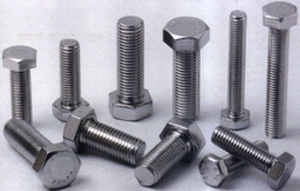 Apl Stainless Steel Hex Bolts (Dia 1/8 Mm - Length 1/2 Mm)