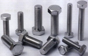 Apl Stainless Steel Hex Bolts Aisi 316 (Dia 1/2 Mm - Length 2 1/2 Mm)