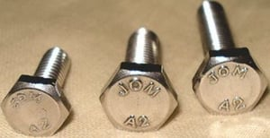 Jom Stainless Steel Hex Bolts ( Dia 5/16 Mm - Length 3 Mm)