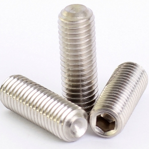 Mahavir Fasteners Stainless Steel Allen Grub Screw (Dia 6 Mm Length 10 Mm)
