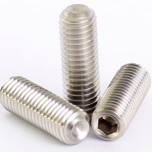 Mahavir Fasteners Stainless Steel Allen Grub Screw (Dia 8 Mm Length 20 Mm)