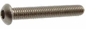 Ib Basics Ss Button Head Screws Grade A2-304 Dia.10 Mm Length 50 Mm