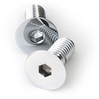 Apl Stainless Steel Allen Csk Screws (Dia 8.00 Mm, Length 50.00 Mm) A2-304q