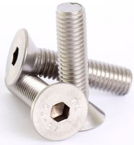 Mahavir Fasteners Stainless Steel Allen Csk Screw (Dia 10 Mm, Length 70 Mm)