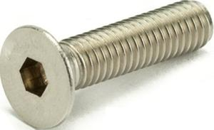 Ib Basics Ss Allen Csk Screws Grade A2-304q Dia.8 Mm Length 60 Mm