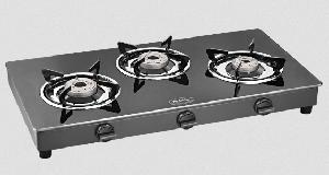Padmini Essentia 3 Burner Gas Cooktop - Cs-3gt Prima Auto