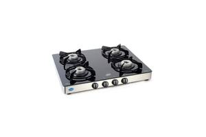 Glen Glass Cooktop With Auto Ignition Option (4 Burner) - Gl 1041 Gt