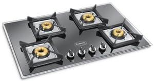 Padmini Essentia Gas Hobs (4 Burners Black) - Cs-405 Gl-Ib