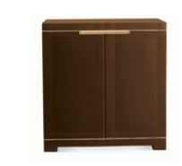Nilkamal Freedom Mini Small Storage Cabinet (Weather Brown/ Biscuit)