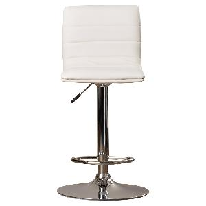 Buy Exclusive Furniture Bar Stool In White Leatherette Kbstw12