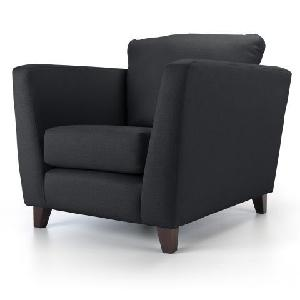 Furniturestyle Rufus - Dark Modern Arm Chair Fs Tp Ach 002