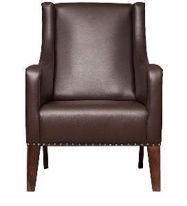 Furniturestyle Oxford -Brown Modern Leather Arm Chair Fs Tp Ach 022