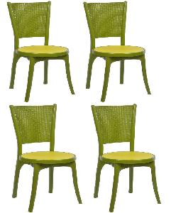 buy supreme iris mehndi green without arm dining chair online in