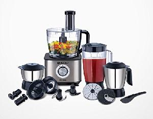 bajaj fx1000 new food processor 1000 watt motor with 11