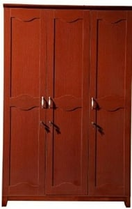 Stellar Pyramid Chery Color 3 Door Wardrobe Zt11-3h