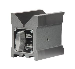 Crystal 2 Inch Hardened And Ground Magnetic V Block 1803hs