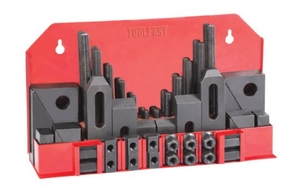 Toolfast Tck-58-1812 Clamping Kit With Step Blocks & Stepped Strap Clamps