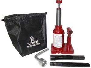 Titan Tools Double Lift Hydraulic Bottle Jack Capacity 2 Ton HJ-2T-DL-WW