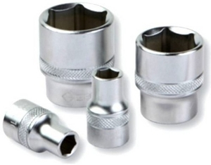 Groz 1/2 Inch Square Drive Hex Socket 29 Mm
