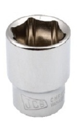 Jcb 1/2 Inch Deep Hex Socket 20 Mm