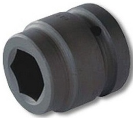 Griphold 1/4 & 3/8 Inch Square Drive Impact Hex Socket 17 Mm
