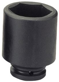 Griphold 1/2 Inch Square Drive Impact Deep Hex Socket 9 Mm