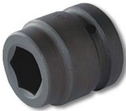 Griphold 1 Inch Square Drive Impact Hex Socket 2 1/15 Inch