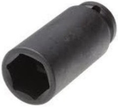Griphold 1 Inch Square Drive Deep Hex Socket 2 1/14 Inch