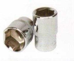 Jhalani 12.5 Mm (1/2) Drive Bihex/Hex Socket 16 Mm