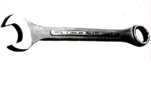 Jhalani 17 J Jaw And Ring Combination Spanner (43 Mm, 1950 G)